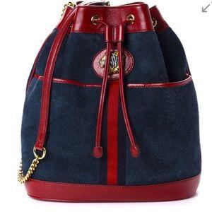 🆕 💯% Auth GUCCI Bag Linea Rajah Bucket Bag